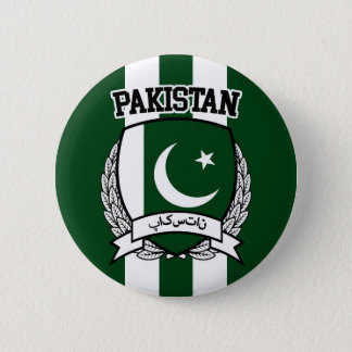 Pakistan 2 Inch Round Button