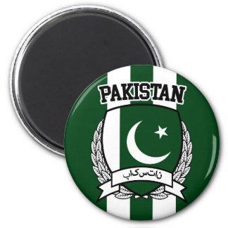 Pakistan 2 Inch Round Magnet