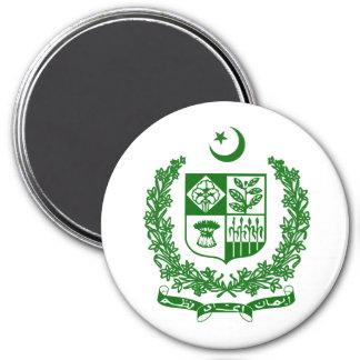 Pakistan 3 Inch Round Magnet