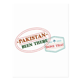 Pakistan Been There Done That Postcard