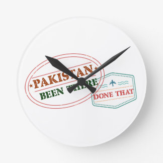 Pakistan Been There Done That Round Clock