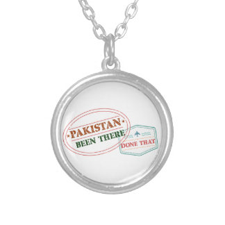 Pakistan Been There Done That Silver Plated Necklace