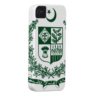 Pakistan Coat Of Arms iPhone 4 Covers