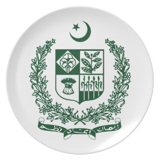 Pakistan Coat Of Arms Plate