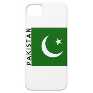 pakistan country flag text name iPhone 5 cases