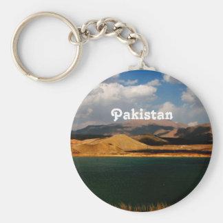 Pakistan Countryside Basic Round Button Keychain