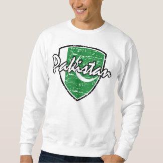 Pakistan distressed flag sweatshirt
