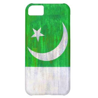 Pakistan distressed Pakistani flag iPhone 5C Cases