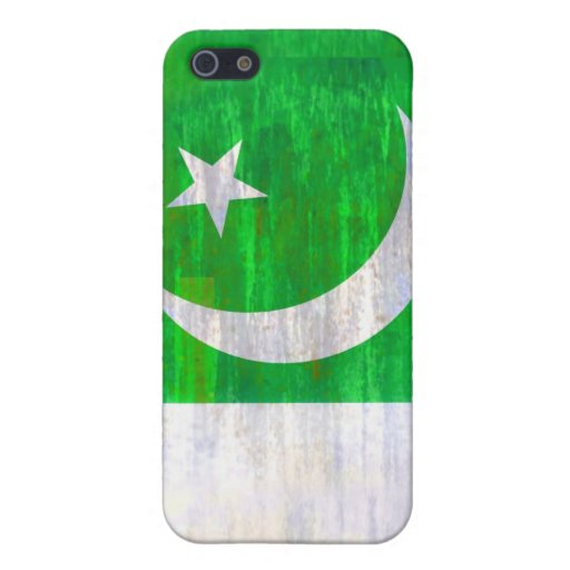 Pakistan distressed Pakistani flag iPhone 5 Covers