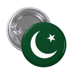 Pakistan Flag 1 Inch Round Button