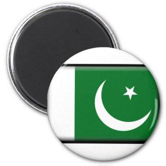 Pakistan Flag 2 Inch Round Magnet