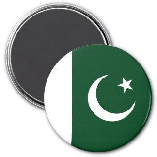 Pakistan Flag 3 Inch Round Magnet
