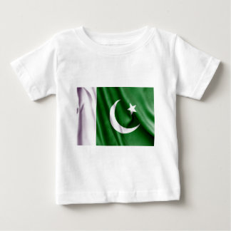 Pakistan Flag Baby T-Shirt