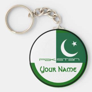 Pakistan-  FLAG Basic Round Button Keychain