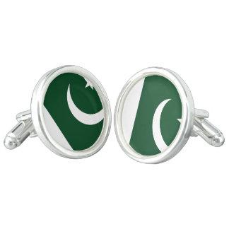 Pakistan Flag Cuff Links