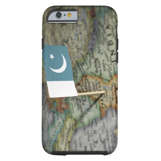 Pakistan flag in map iPhone 6 case