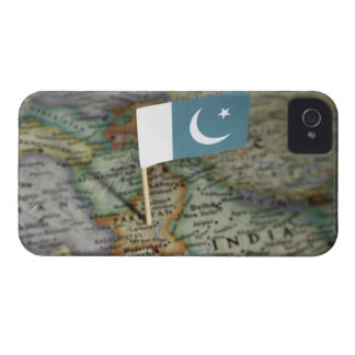 Pakistan flag in map iPhone 4 case