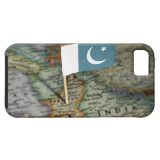 Pakistan flag in map iPhone 5 cases