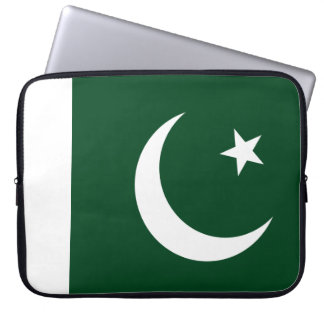 Pakistan Flag Laptop Sleeve