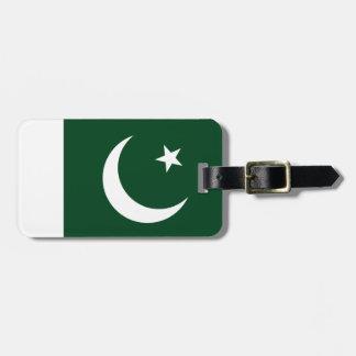 Pakistan Flag Luggage Tag