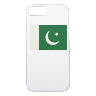 Pakistan Flag Oil Painting iPhone 7 Case