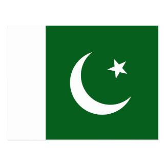 Pakistan Flag Postcard