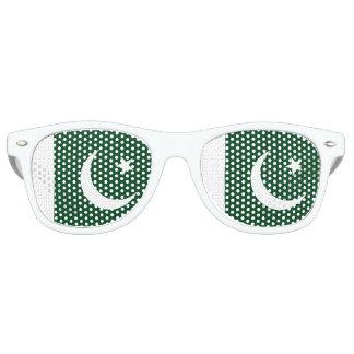 Pakistan Flag Retro Sunglasses