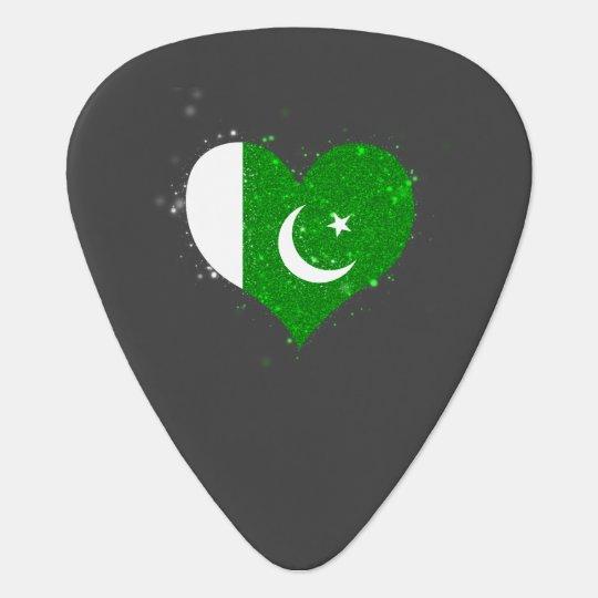 Pakistan Flag Shining Unique Pick