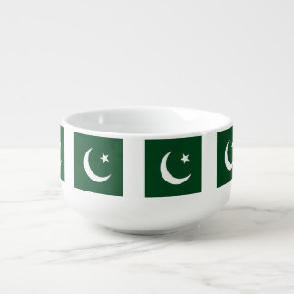 Pakistan Flag Soup Mug