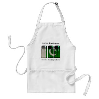 Pakistan Flag Spice Jars Apron