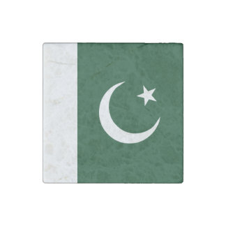 Pakistan Flag Stone Magnets
