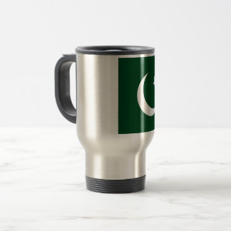 Pakistan Flag Travel Mug