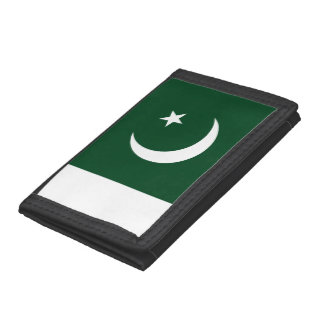 Pakistan Flag Tri-fold Wallet