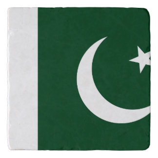 Pakistan Flag Trivet
