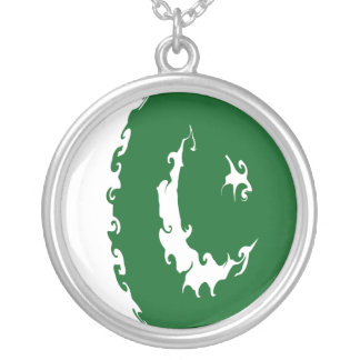 Pakistan Gnarly Flag Personalized Necklace