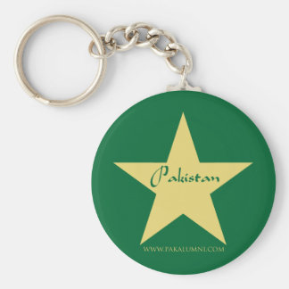 Pakistan Gold Star Products Keychain