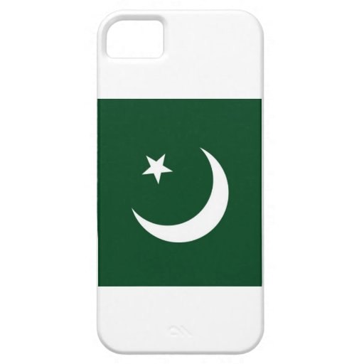 Pakistan National Flag Cover For iPhone 5/5S