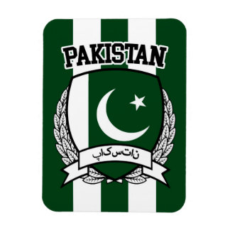 Pakistan Rectangular Photo Magnet