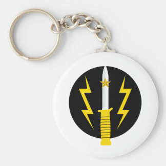 Pakistan Special Services Group - SSG Basic Round Button Keychain