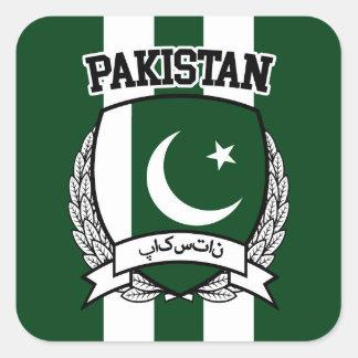 Pakistan Square Sticker
