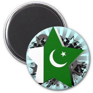 Pakistan Star Magnet