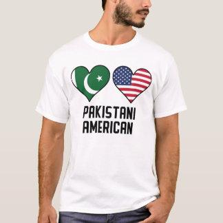 Pakistani American Heart Flags T-Shirt