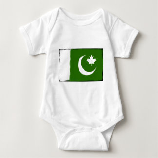 Pakistani - Canadian Fusion Baby Bodysuit