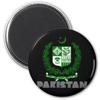 Pakistani Emblem 2 Inch Round Magnet