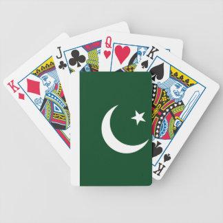 Pakistani flag Playing Cards
