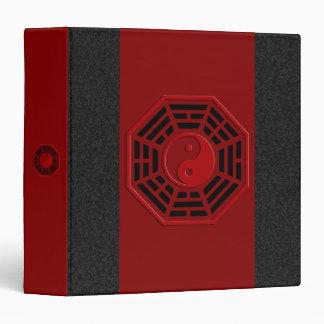 PaKua | dark red, black splatter Binders