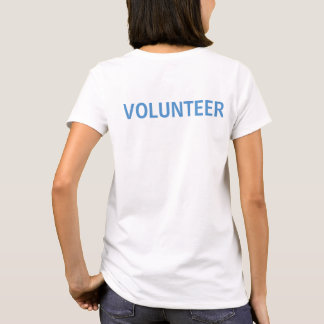 PAL Volunteer Logo Shirt - White