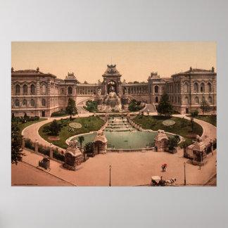 Palace Longchamps, Marseilles, France Poster