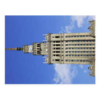 Palace of Culture and Science in Warsaw Postcard
