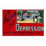 Palace of Depression Postcard